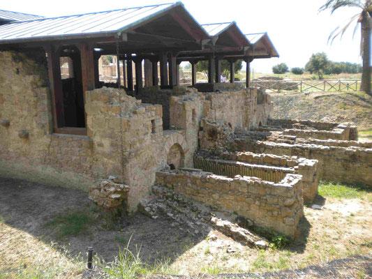 Sauna und Heizhaus