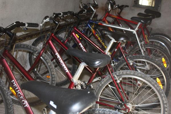 Garage des vélos