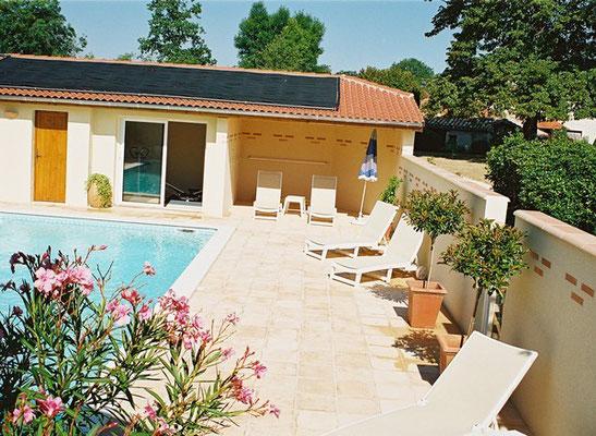 Gîte les Chênes - 3 épis - piscine privée