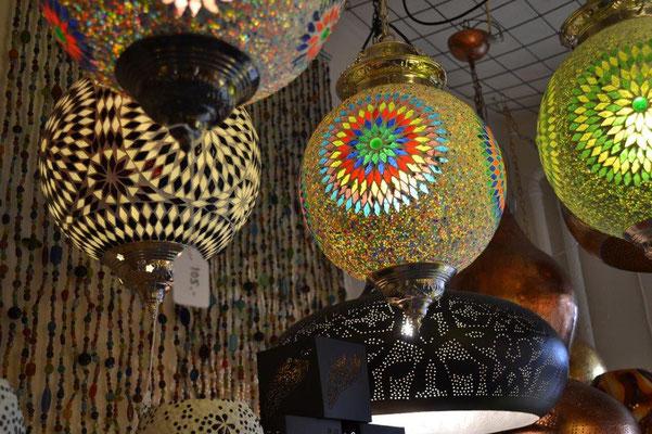 Oosterse hanglamp | Turkse lamp | Mozaïek