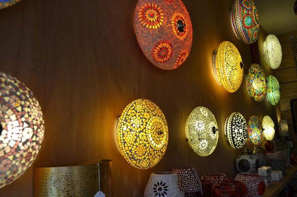 Oosterse plafonnières | Marokkaanse plafondlamp | Mozaïek