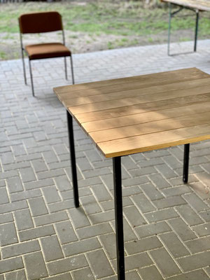 Schöne neue Holzplatte