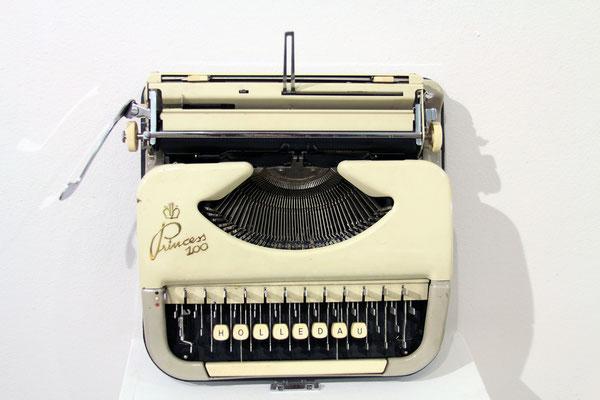 Regionale Schreibmaschine