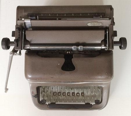 Schreibmaschine für reduzierte Systeme