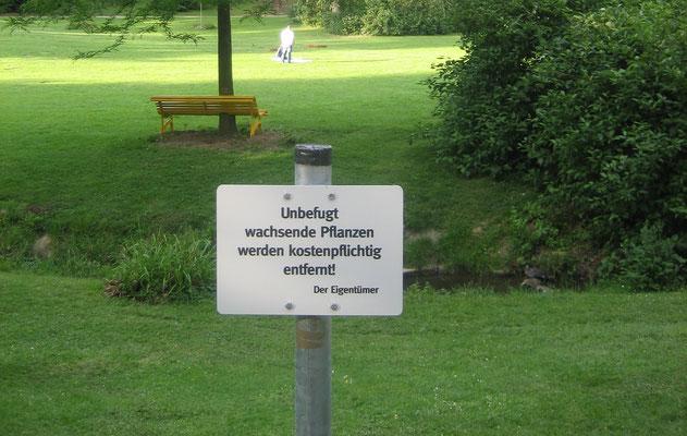 Edition: Schilder zur Parkordnung