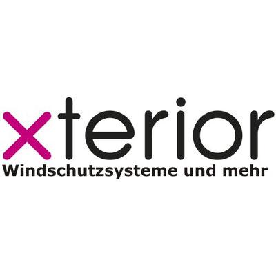 Logo xterior Hersteller von Windschutzanlagen