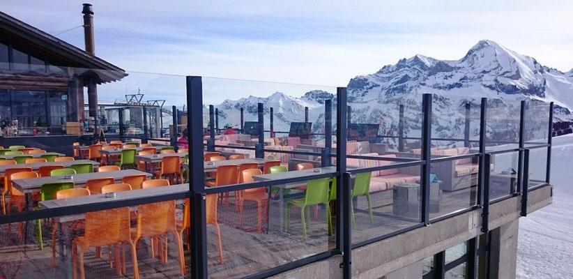 Windschutzwand Terrasse