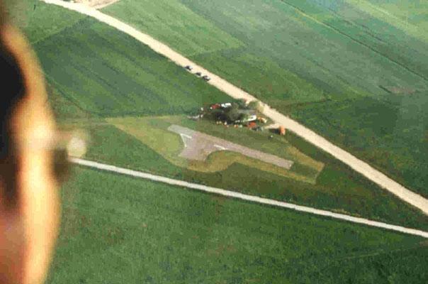 Luftaufnahme Flugplatz 1981