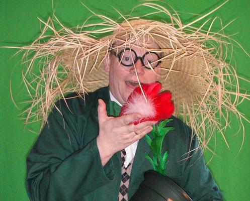 Fredo Fröhlich als Gärtner