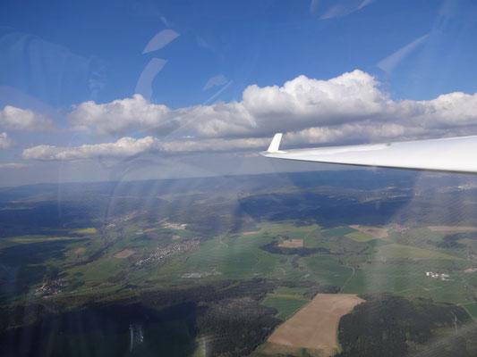 Schöne Wolken und gute Steigwerte