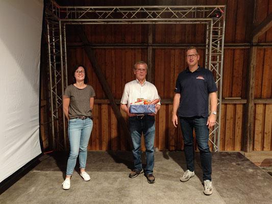 von links nach rechts: Ines Markull, Hans-Theo Rathjens, Janek Lünstedt