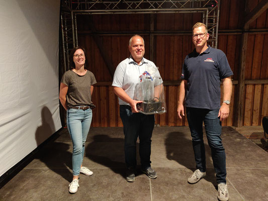 von links nach rechts: Ines Markull, Heino Baumgarten, Janek Lünstedt
