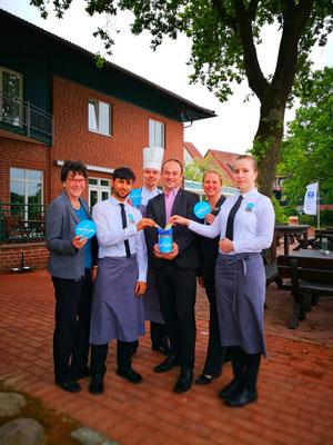 Danke an das Team vom Steigenberger Hotel Treudelberg Hamburg.