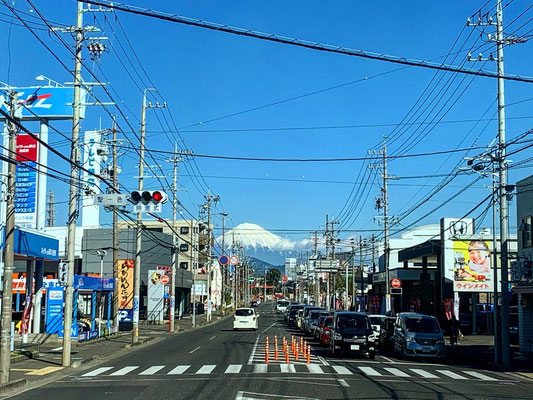 On the way to Fujisan