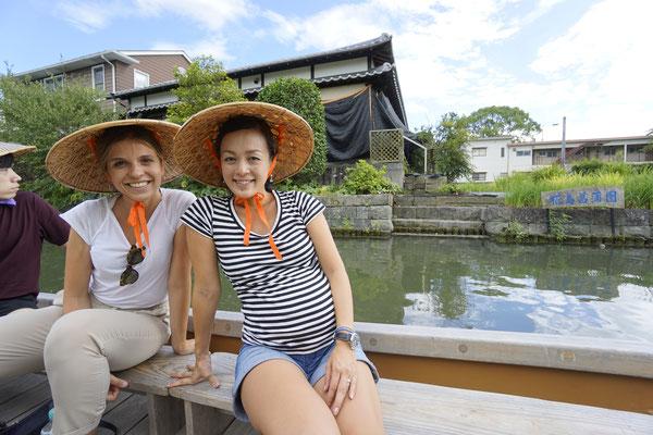 Yanagawa river drive