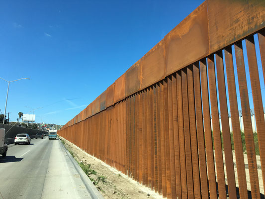 Wall around Mexican  Border