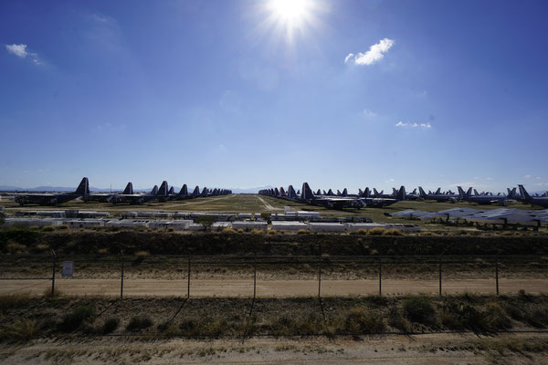 US Air Force scrap parking