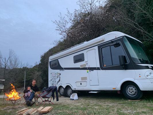 Kagawa, Tanoura Campground