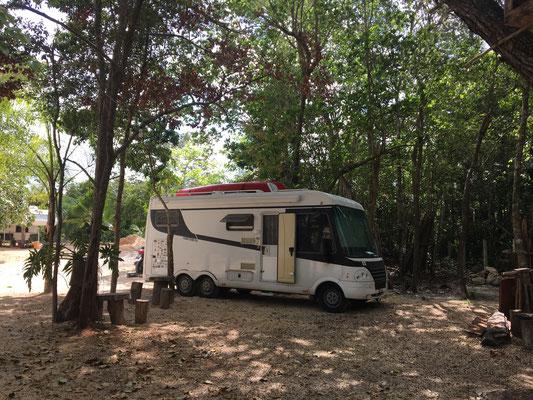 Tulum Camping ground