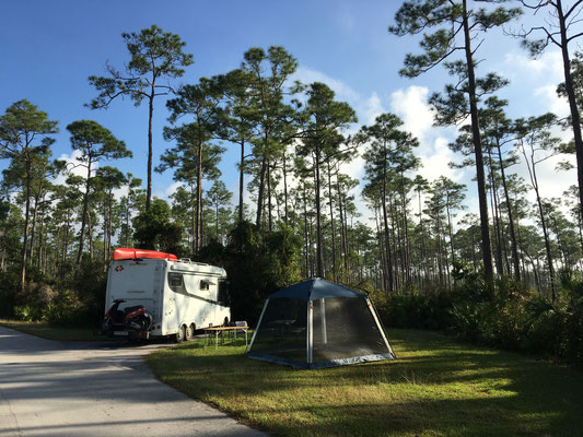Everglades National Park,Long Pine CG