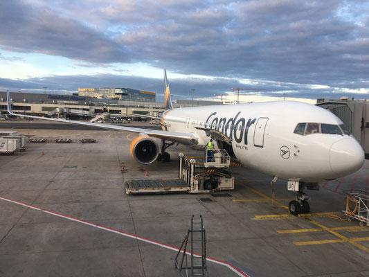 Take off  to Halifax