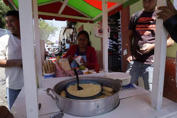 Corn stand