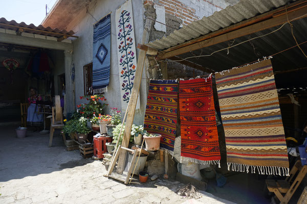 Traditional Rug production