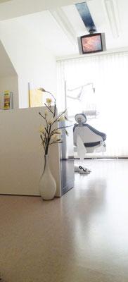Behandlungszimmer Zahnarztpraxis Birgit Treiber