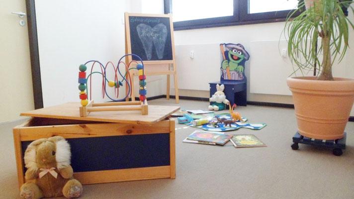 Kinderspielecke Zahnarztpraxis Birgit Treiber