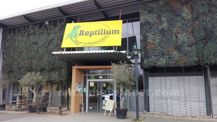 Eingang Reptilium Landau (c) maximalplanet.com 2017
