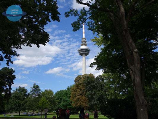 Fernsehturm Luisenpark Mannheim