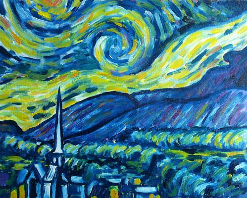 Van Gogh Kopie (Ausschnitt)