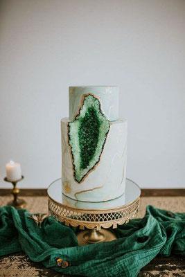 gâteau de mariage magnifique
