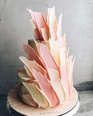 brushstroke cake montpellier