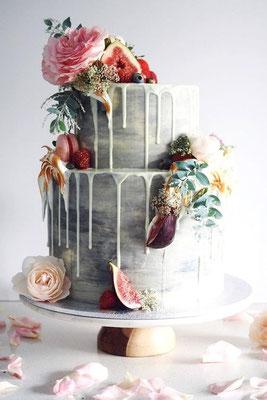 drip cake mariage