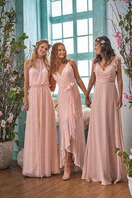 robes longues demoiselles d'honneur