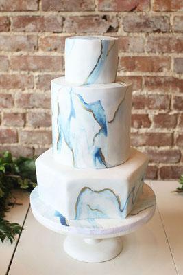 marble cake gâteau de mariage