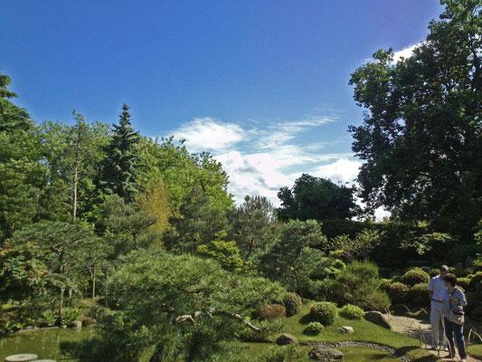 Gartenpanorama