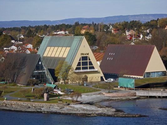 Museumsinsel mit Fram Museum