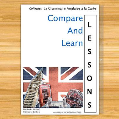 Toute les leçons de la grammaire anglaise (B2, C1, C2) regroupées dans un livre