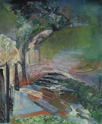 Stromořadí * akryl na plátně * 50/70
