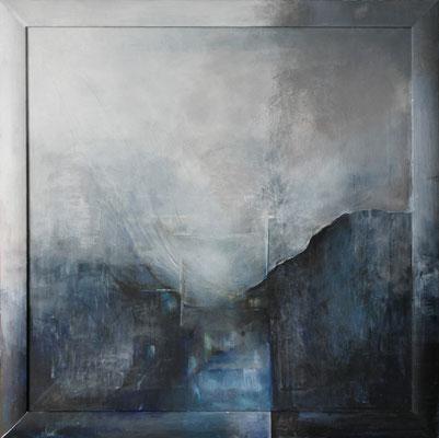 Krajina vody III * akryl na plátně * 73/73 * prodáno