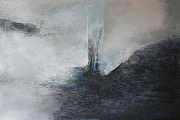 Krajina vody II * akryl na plátně * 120/80