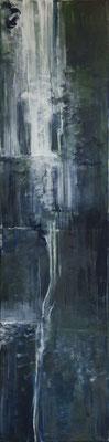 Krajina vody IV * akryl na plátně * 30/120