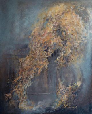 Koloběh * akryl na plátně * 80/100