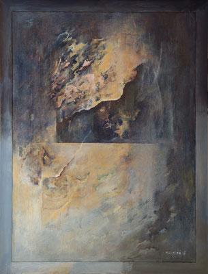 Trhliny * akryl na sololitu * 76/99