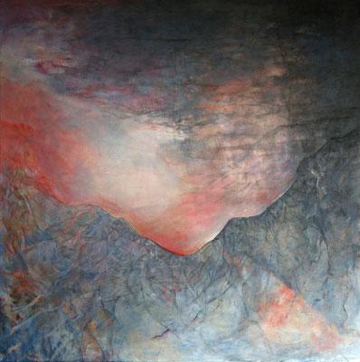 Výšiny * akryl na plátně * 100/100
