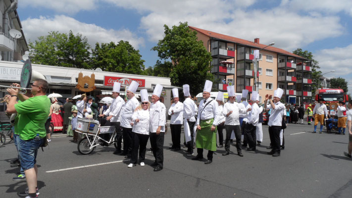 Unser Schlachtruf war: Rüsselsheim - Ei gude wie!