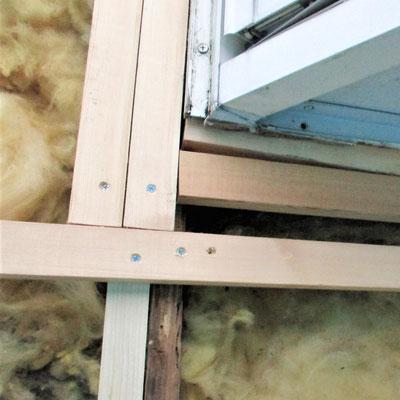 ④造りは軽鉄ですから柱などの構造には問題ありません。