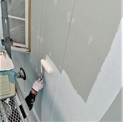 ⑦塗装工程へ。